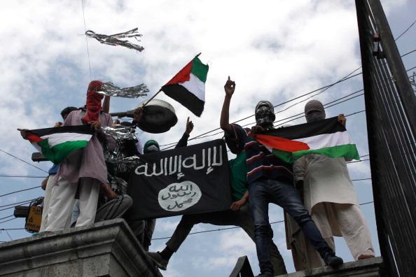 Kashmiri Protest Against Israeli Military Operations In Gaza
