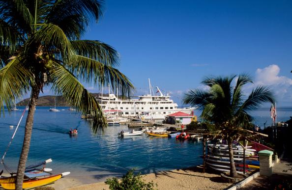 British Virgin Island, Virgin Gorda, Leverick Bay, Cruise