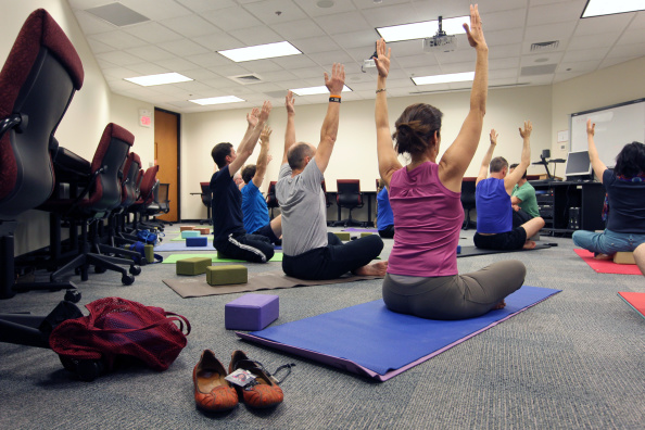 Noon Yoga And Other Health Benefits At Draper Laboratory