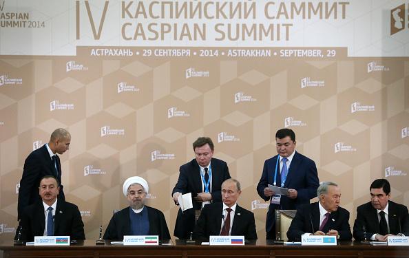 Fourth Caspian Sea Summit Held In Russia