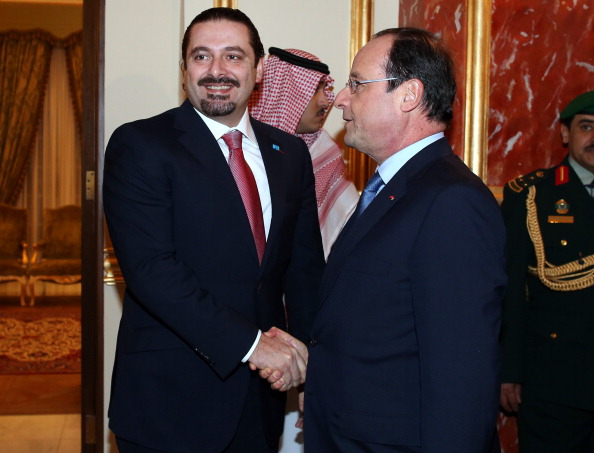 SAUDI-FRANCE-LEBANON-DIPLOMACY-HOLLANDE