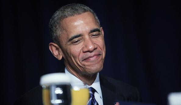 Obamas Attend National Prayer Breakfast