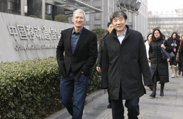 CEO Tim Cook Visits Beijing