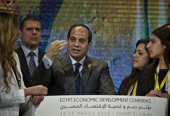 EGYPT-POLITICS-ECONOMY-CONFERENCE-SISI