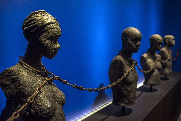 FRANCE-OVERSEAS-GUADELOUPE-HISTORY-SLAVERY-MEMORIAL
