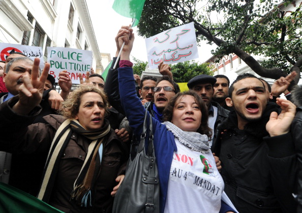 ALGERIA-POLITICS-ELECTION-DEMO-PRESIDENT