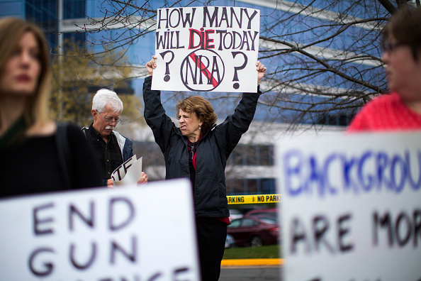 National Rifle Association Protest