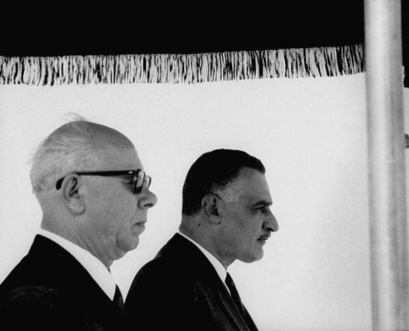 Gamal Abdul Nasser;Nikolai V. Podgorny