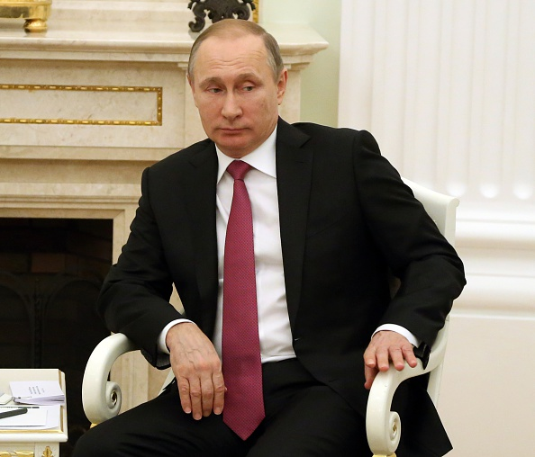 Russian President Holds Talks With Emir of Qatar In Moscow