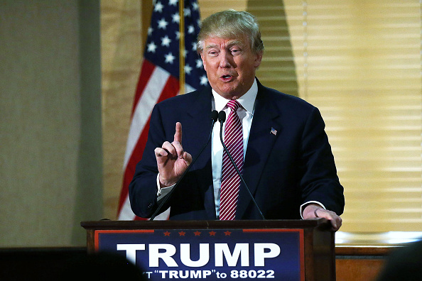GOP Presidential Candidate Donald Trump Holds News Conference In South Carolina
