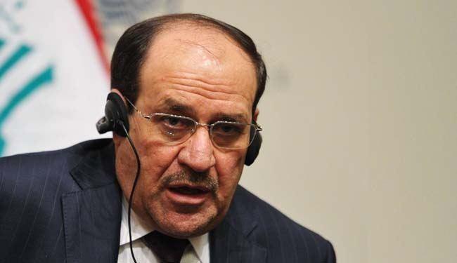 """المالكي يطلق من كربلاء تسمية """"ثأر القائد محمد"""" على عمليات صحراء الانبار"""