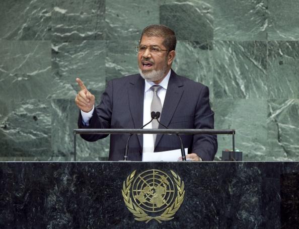 Former Egyptian President.