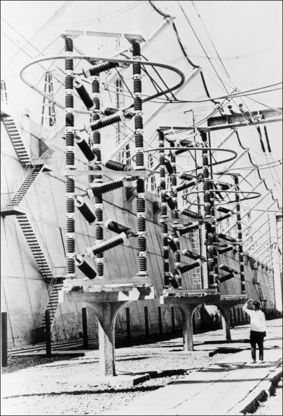 The electricity distribution equipments at the Asw