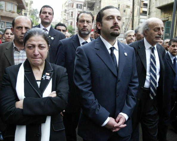 Sister of the later Premier Rafiq Hariri