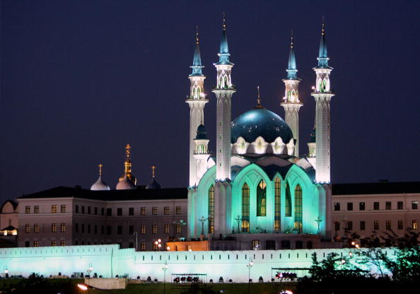 The Kul Sharif mosque and Church of the