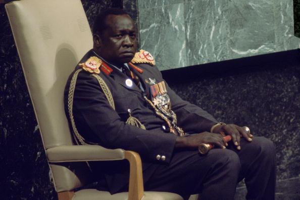 Ugandan President Idi Amin At UN In 1975