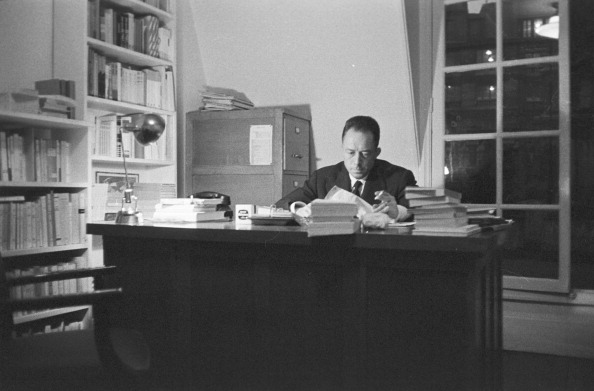 Premium Pricing DOUBLE RATES APPLY On 17 October 1957 The Writer Albert Camus Receives Nobel Prize For Literature That Reward A Who Rendered