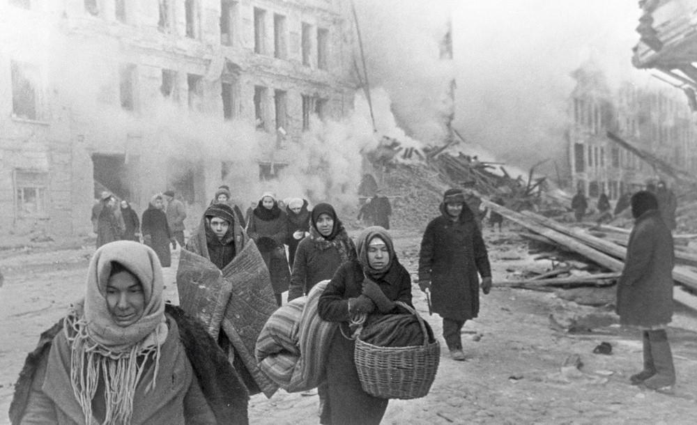 المدنيون أبرز ضحايا حصار ليننغراد في الحرب العالمية الثانية