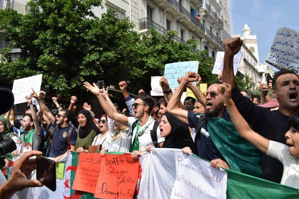 مسيرة الطلبة بالأمس مصدر الصورة (ساسة بوست)