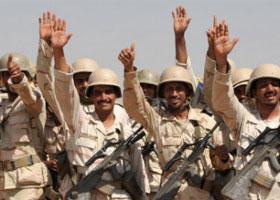 قوات أردنية شاركت إلى جانب السعودية