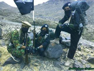 صورة أرشيفية لما يطلق عليه جيش العدل السني في بلاد فارس.