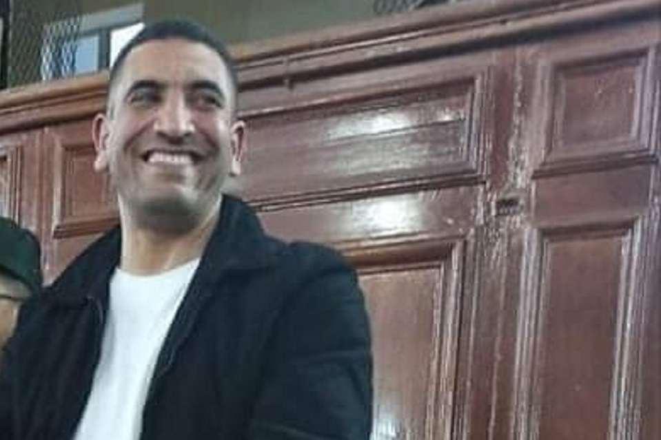كريم طابو داخل المحكمة، مصدر الصورة (مواقع التواصل)