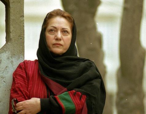 رخشان بني اعتماد كانت أحد المؤيدات للاحتجاجات في 2009.