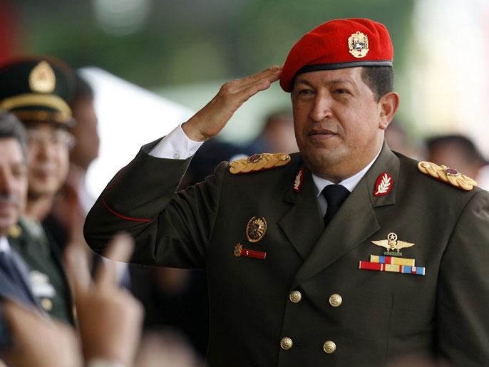 الرئيس الفنزويلي السابق هوجو تشافيز