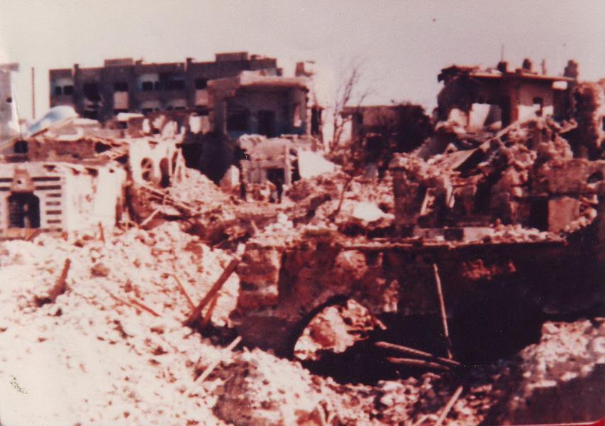 حماة بعد القصف