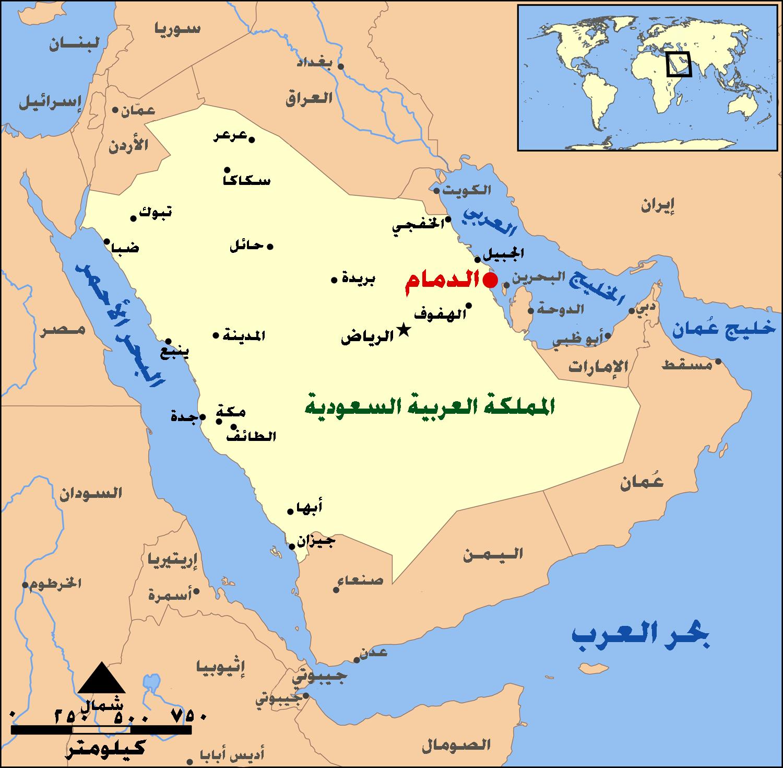 Dammam_map_me