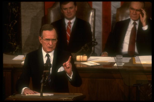 J. Danforth Quayle;George H. W. Bush;James C. Jr. Wright