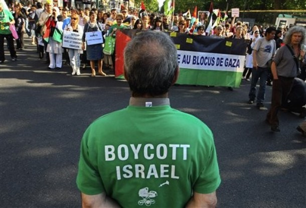 France Isreal  Palestinians Protest