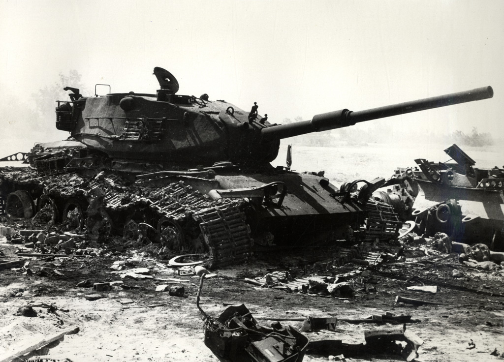 Israeli_M60_wreckage