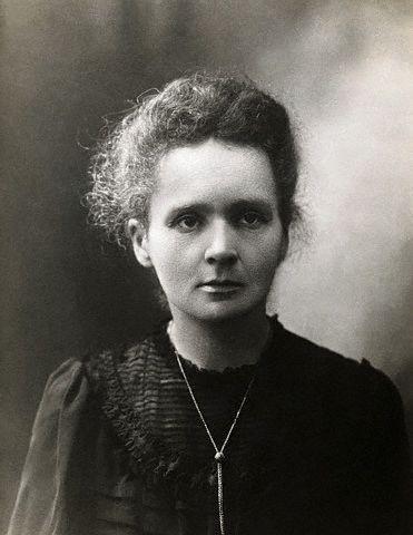 ca. 1898 --- Marie Curie --- Image by © Underwood & Underwood/CORBIS
