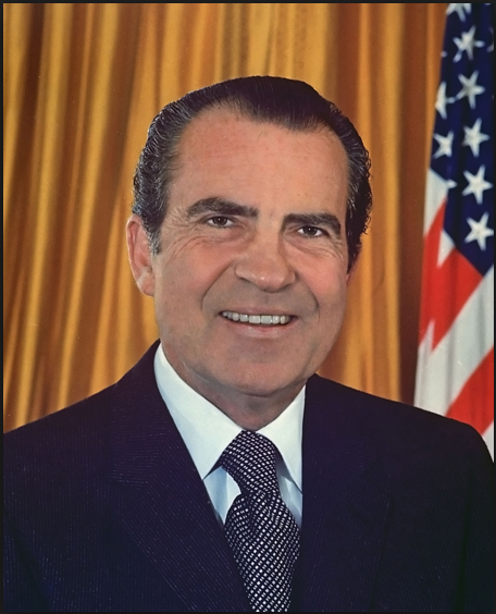 الرئيس الأمريكي السابق ريتشارد نيكسون