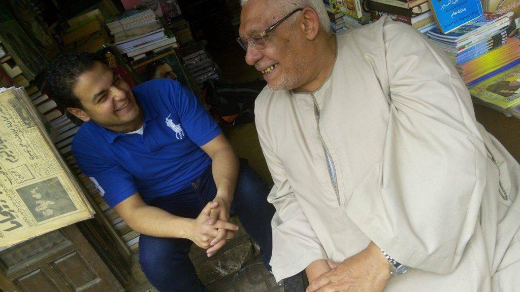 صورة مع عم حربي