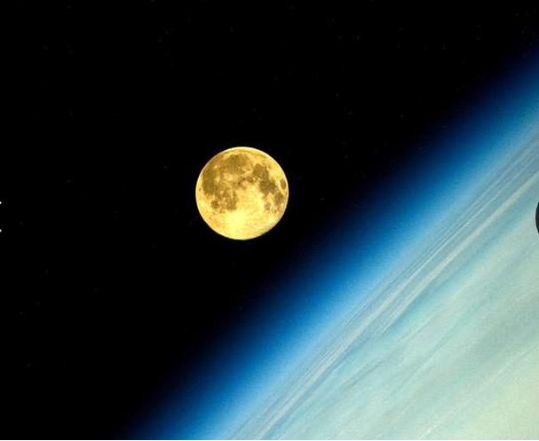 صورة التقطتها المحطة الفضائية الدولية