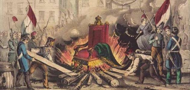الفوضى كانت سمة المرافقة للثورة الفرنسية