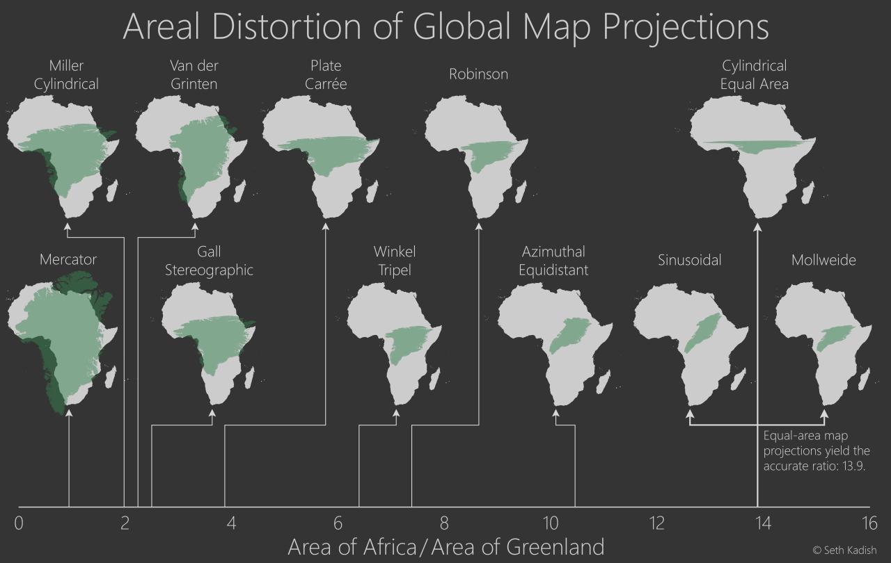 واشنطن بوست: معظم خرائط العالم التي تراها غير صحيحة - ساسة بوست