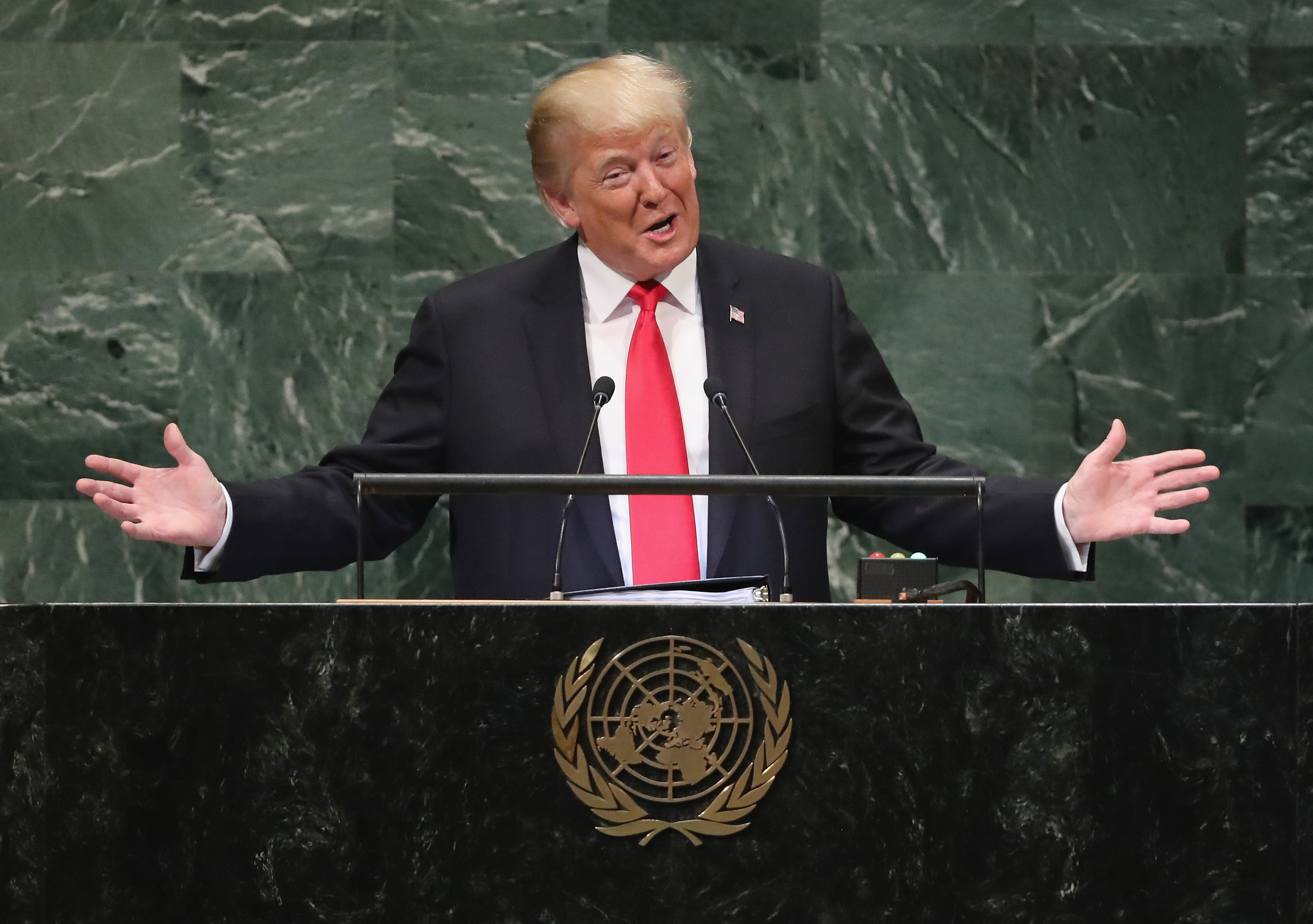 الدبلوماسية الأمريكية: دونالد ترامب في الأمم المتحدة