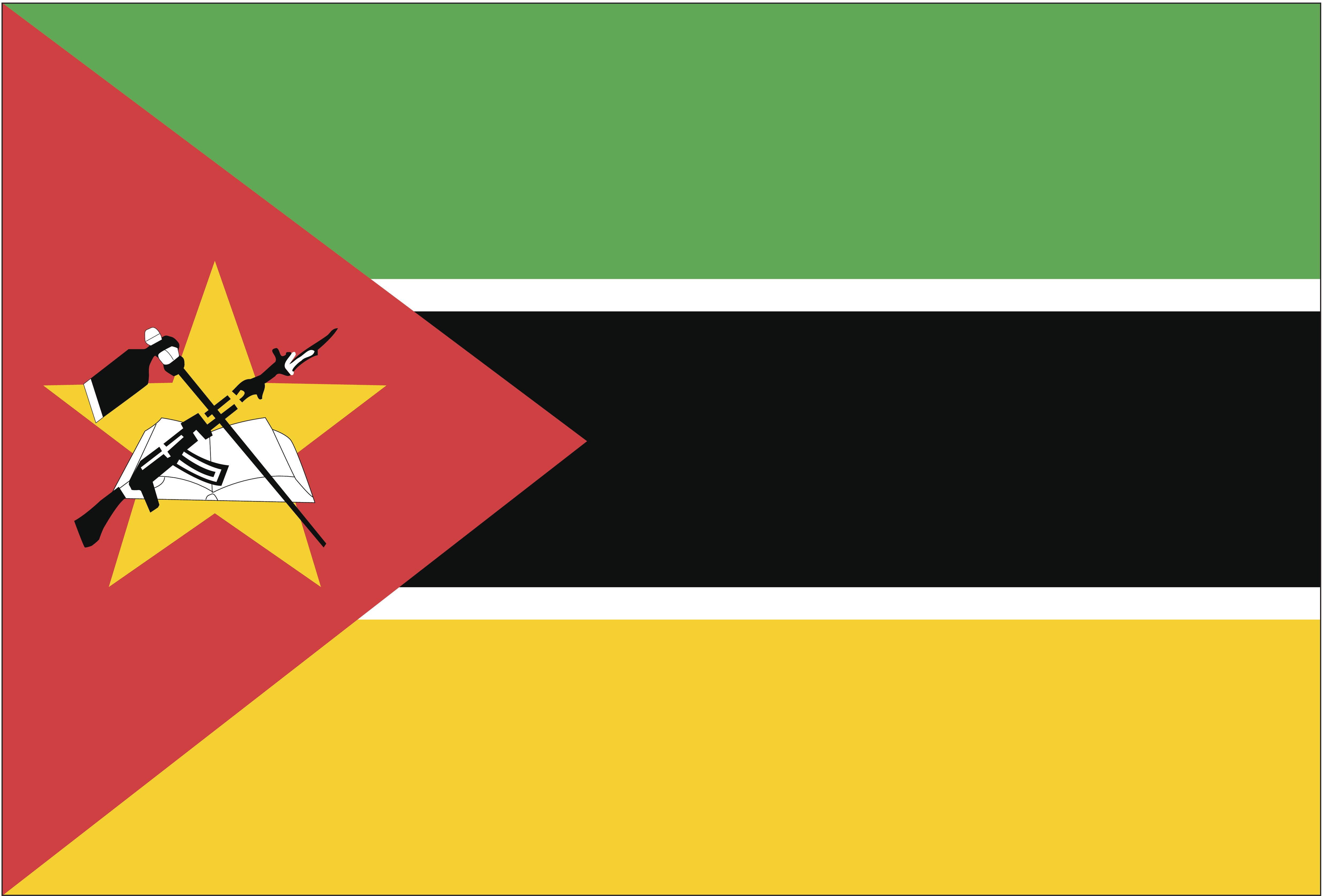 علم موزمبيق