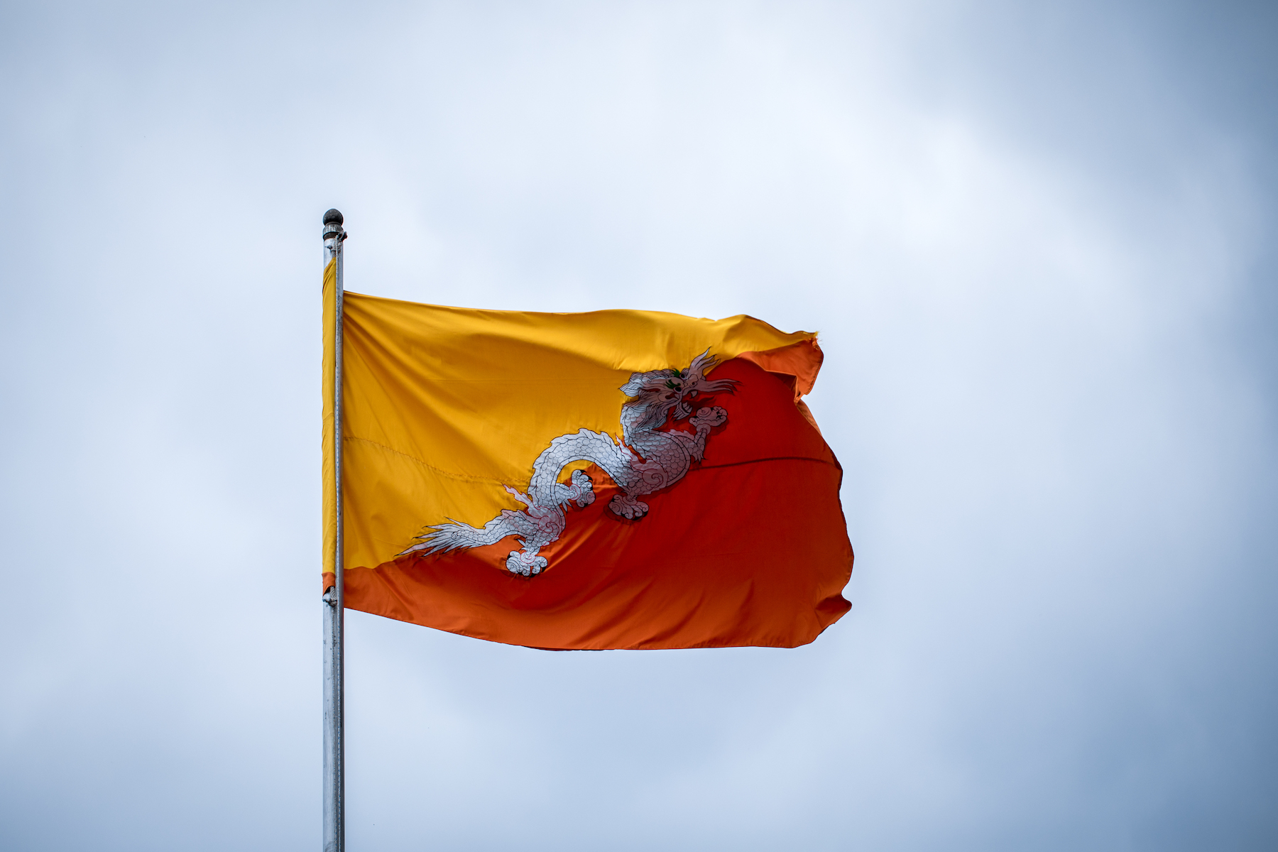علم بوتان