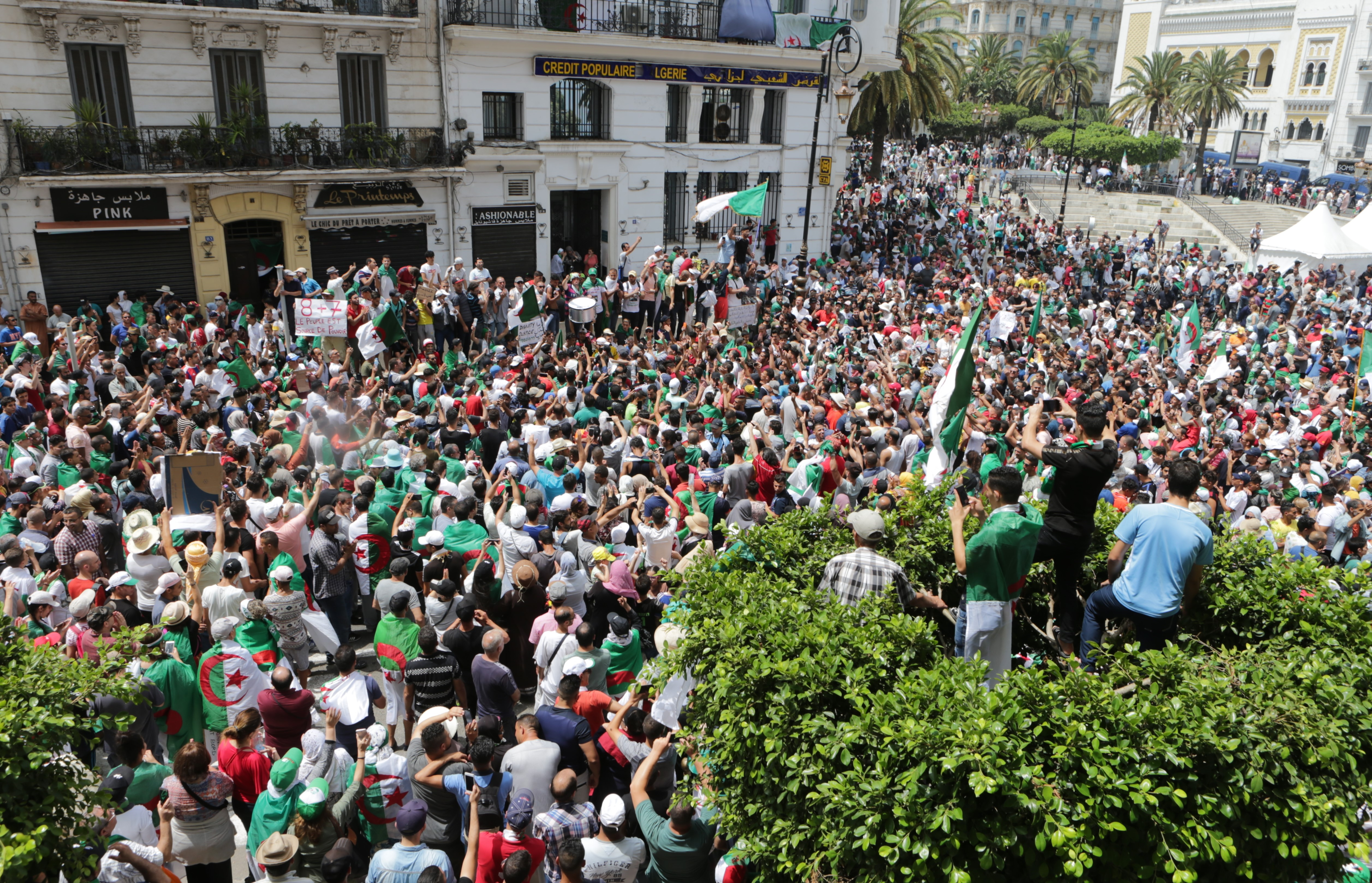مظاهرات الجمعة 05 يوليو 2019، والتي كان من المفترض أن تعلن فيها نتائج الانتخابات الملغاة