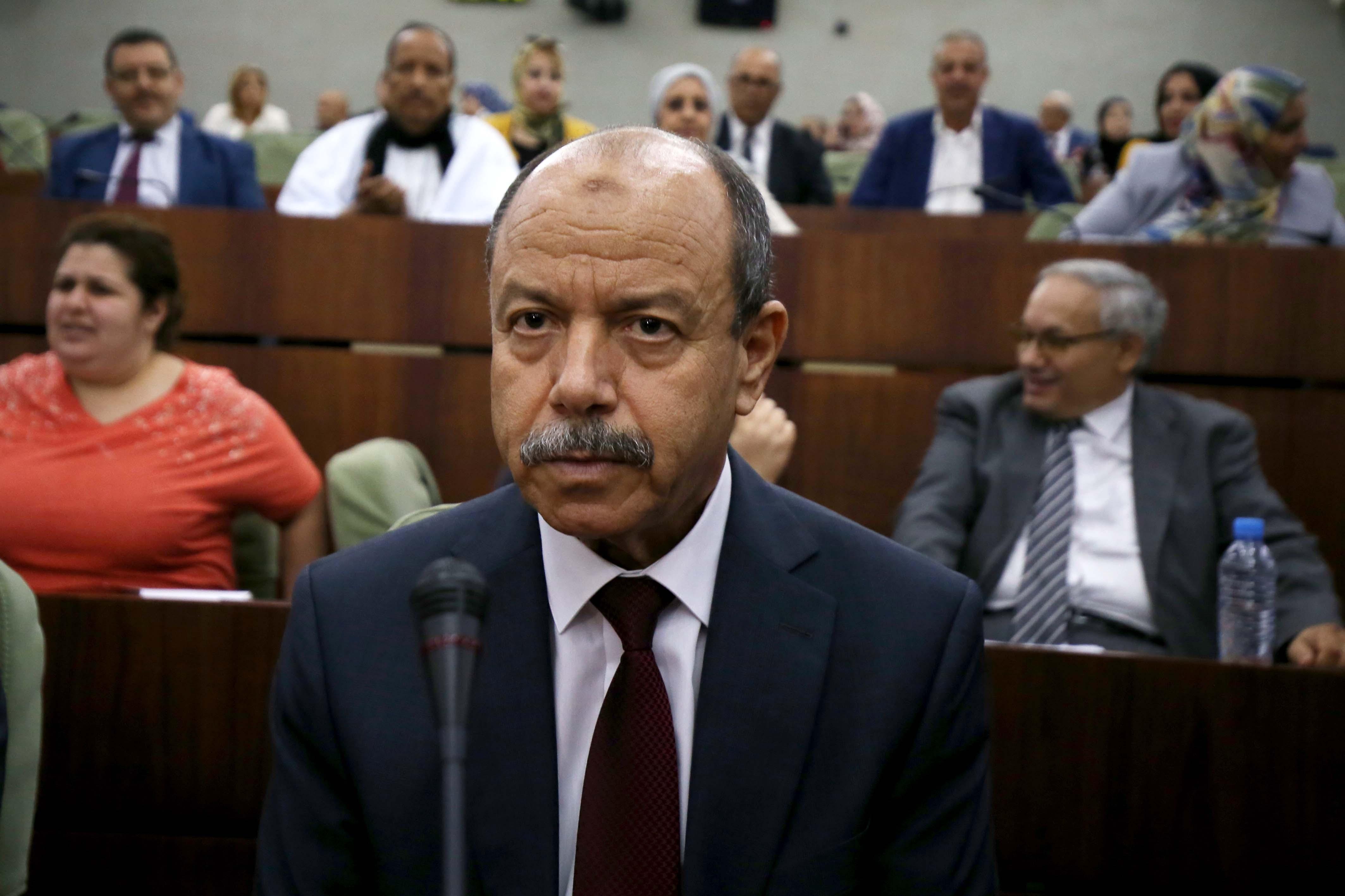 وزير العدل الجزائري بلقاسم زغماتي