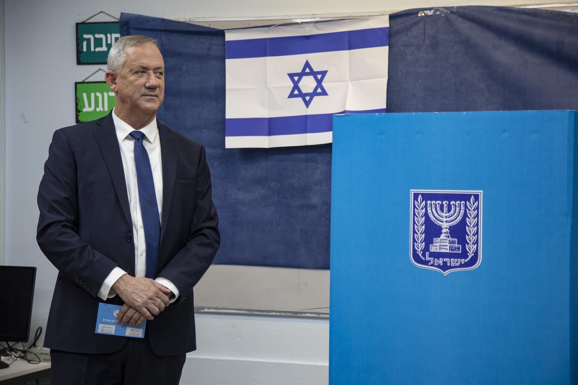 بيني جانتز، المرشح الأبرز ضد نتنياهو في الانتخابات الإسرائيلية