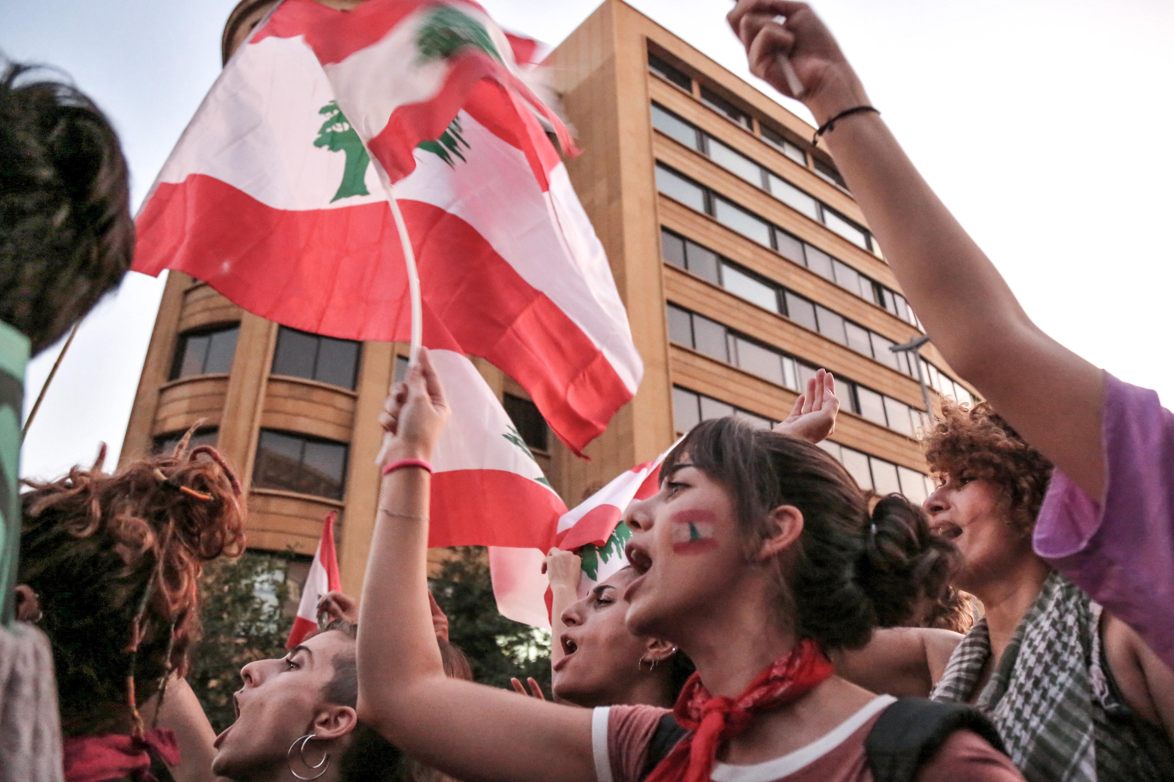 انتفاضة شعب لبنان ضد المسؤولين