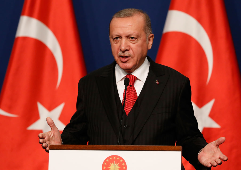 الأسلحة التركية - أردوغان