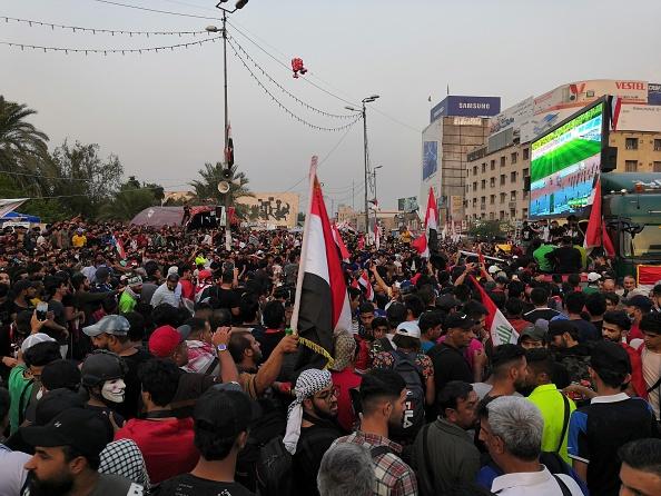 احتجاجات العراق. 14 نوفمبر (تشرين الثاني) 2019