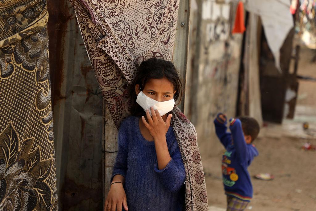 كورونا يتفشى في غزة