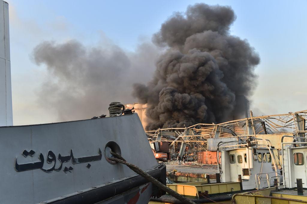 انفجار بيروت مرفأ بيروت نترات الأمونيوم
